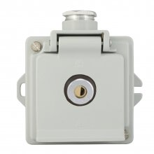 LOCKING SOCKET OUTLET 16 A, 250 V, IP 44